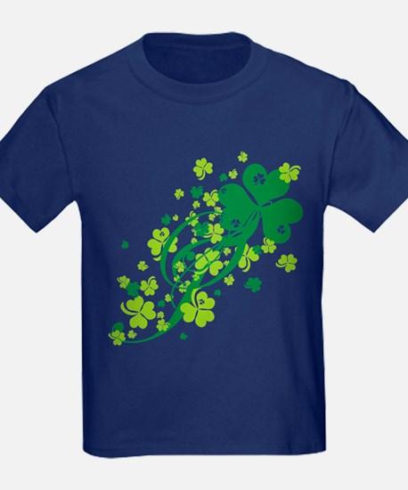 Shamrocks and Swirls T