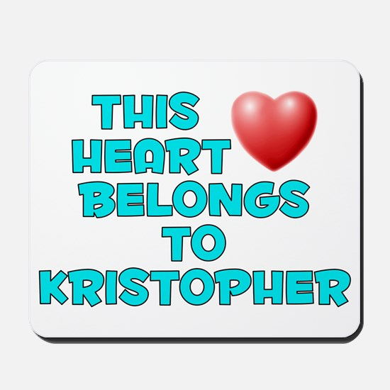 This Heart: Kristopher (E) Mousepad