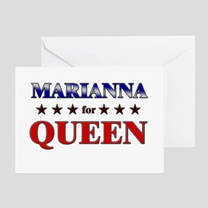 MARIANNA for queen Greeting Card