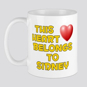 This Heart: Sidney (D) Mug