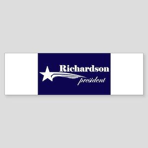 Bill Richardson president Bumper Sticker