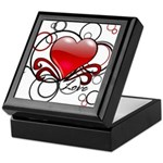 Love Swirls Keepsake Box