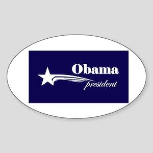 Barack Obama president Oval Sticker