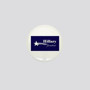 Hillary Clinton president Mini Button