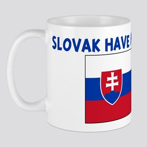 SLOVAK HAVE MORE FUN Mug