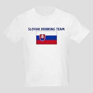 SLOVAK DRINKING TEAM Kids Light T-Shirt