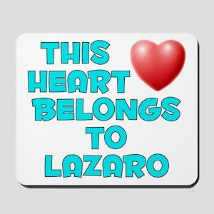 This Heart: Lazaro (E) Mousepad