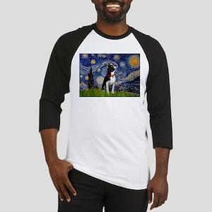 Starry Night & Boston Baseball Jersey