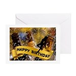 Birthday Beer And Girl Greeting Cards