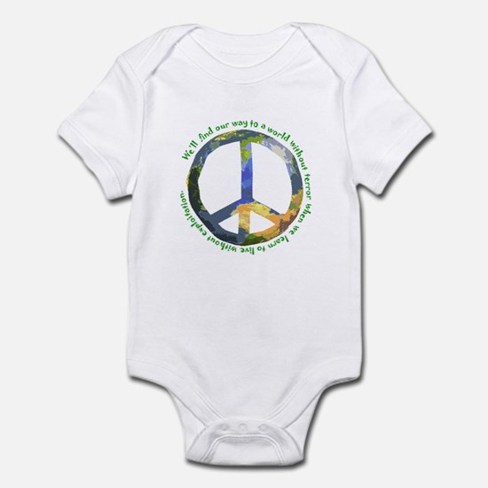 Peace Sign Infant Creeper