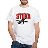 Stuka Mens Classic White T-Shirts
