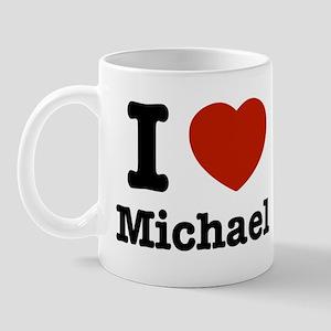 I love Michael Mug