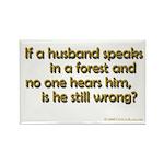 Husband Rectangle Magnet (100 pack)