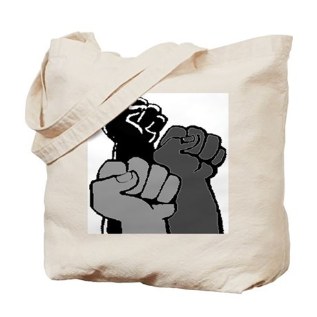 Black Power Fists Tote Bag
