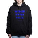 WWP Lg Blu- Women's Hooded Sweatshirt