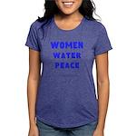 WWP Lg Blu- Womens Tri-blend T-Shirt
