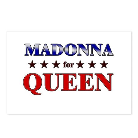 MADONNA for queen Postcards (Package of 8)