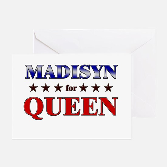 MADISYN for queen Greeting Card