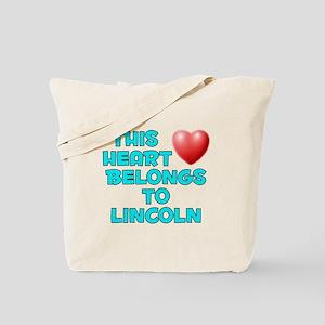This Heart: Lincoln (E) Tote Bag