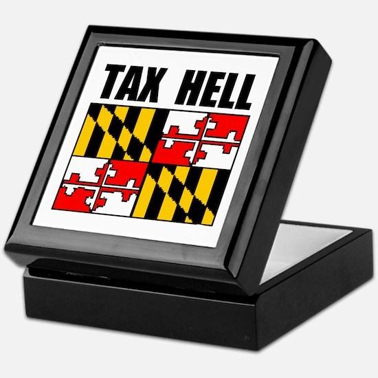 TAX HELL Keepsake Box