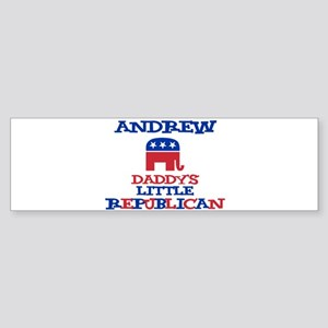 Andrew - Daddy's Little Repub Bumper Sticker
