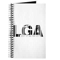 New York City LGA Airport Code Journal