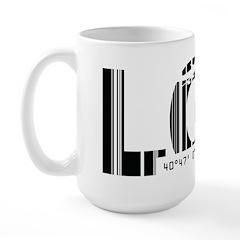 New York City LGA La Guardia Airport Large Mug