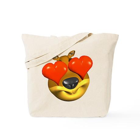 Beary Hearty Tote Bag