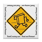 "BookCrossing 4"" Tile Coaster"