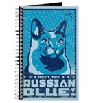 Russian Blue - Cat World Domination Journal