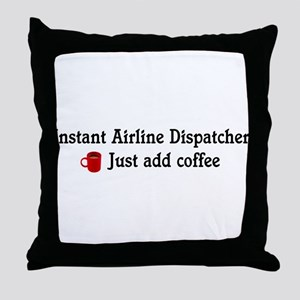 Airline Dispatcher Throw Pillow
