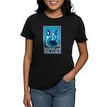 Russian Blue! Women's Retro Dark T-Shirt
