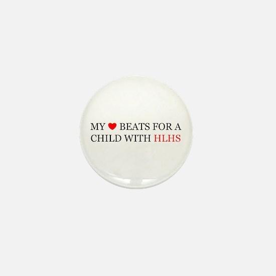 HLHS HEART Mini Button
