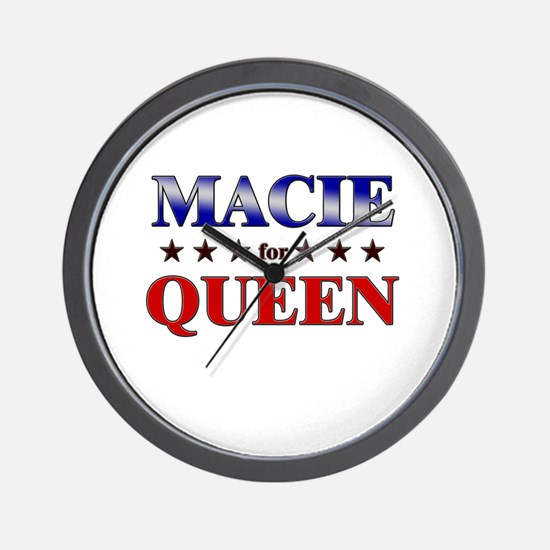 MACIE for queen Wall Clock