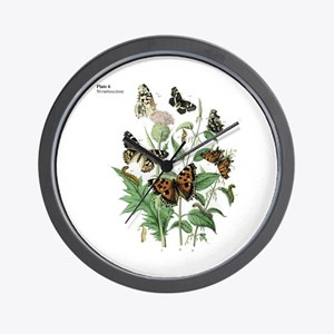 Butterfly 17 Wall Clock