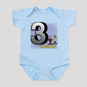 Funny Math Design That's Odd Infant Bodysuit