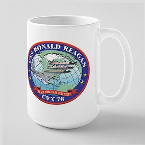 USS Ronald Reagan CVN 76 Large Mug