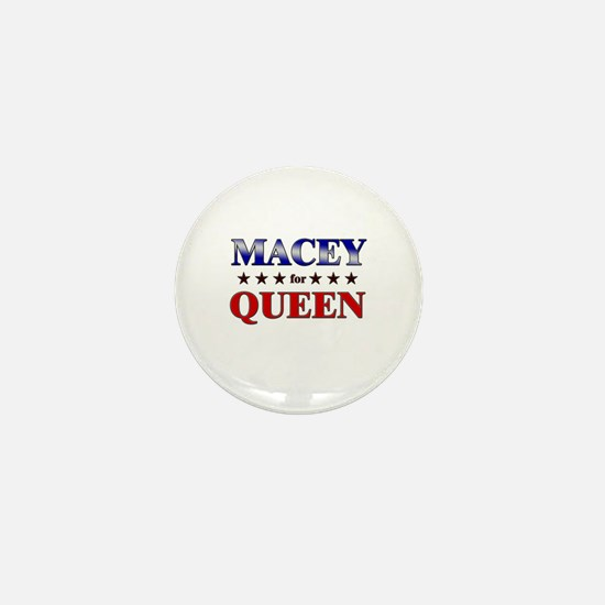 MACEY for queen Mini Button