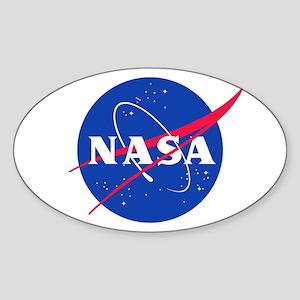 NASA Sticker (Oval)