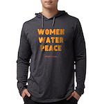 WWP Lg Orng- Mens Hooded Shirt