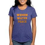 WWP Lg Orng- Womens Tri-blend T-Shirt