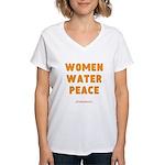 WWP Lg Orng- Women's V-Neck T-Shirt