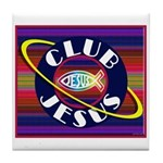 Club Jesus Tile Coaster
