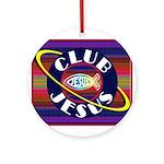 Club Jesus Ornament (Round)