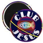 """Club Jesus 2.25"""" Magnet (10 pack)"""