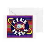 Club Jesus Greeting Cards (Pk of 10)