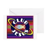 Club Jesus Greeting Card