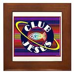 Club Jesus Framed Tile