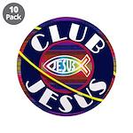 "Club Jesus 3.5"" Button (10 pack)"