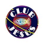 "Club Jesus 3.5"" Button"